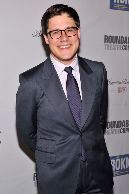 "Actor Rich Sommer attends ""Harvey"" Broadway Opening Night Performance After Party at Roundabout Theatre Company's Studio 54"