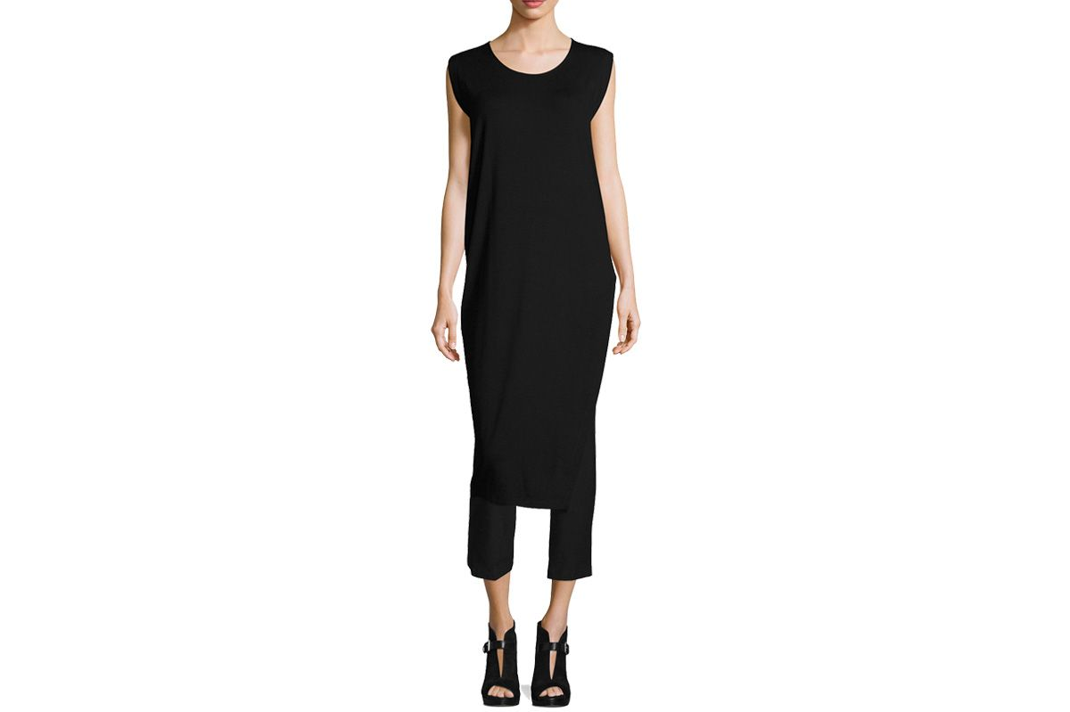 Eileen Fisher Long Featherweight Jersey Tunic