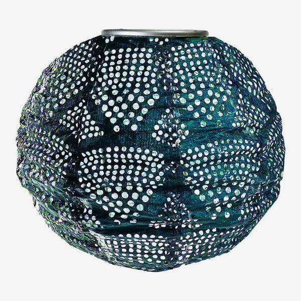 Allsop Soji Stella Ink Wave Globe Solar Lantern