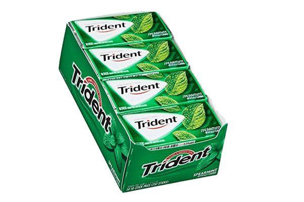 Trident Spearmint Sugar-Free Gum