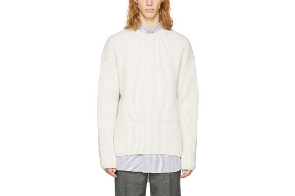 Acne Studios Off-White Njal Sweater