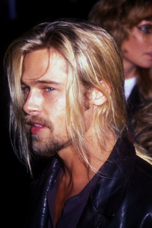 "Brad Pitt at the ""Interview With A Vampire"" Los Angeles Premiere"