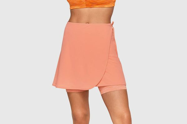 Outdoor Voices TissueWeave Wrap Skirt