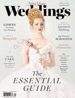 Cover of New York Magazine's Spring 2017 Wedding issue