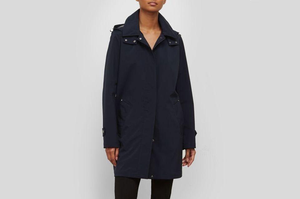 Kenneth Cole A-Line Rain Jacket