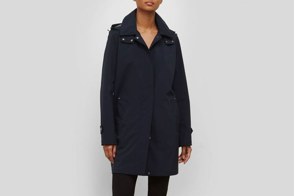 Kenneth Cole A-Line Rain Jacket