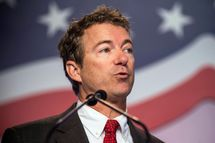 Senator Rand Paul (R-KY), speaks at the 2013 Values Voter Summit, held by the Family Research Council, on October 11, 2013 in Washington, DC. The summit, which goes for three days, is attended by a number of Republican senators and high profile conservative voices in American politics.