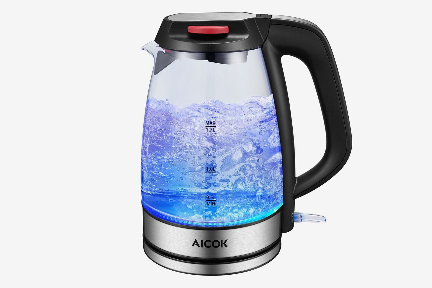Aicok Electric Fast Boiling Glass Tea Kettle