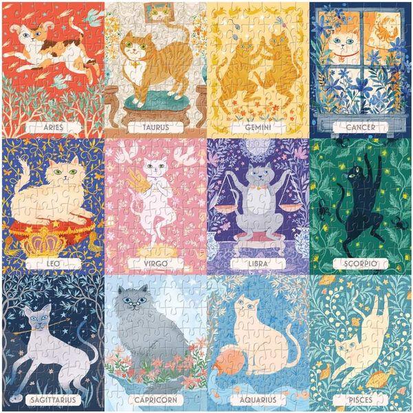 Cat Zodiac 500-Piece Puzzle