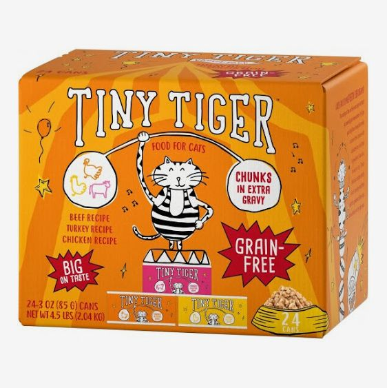 Tiny Tiger Beef & Poultry Variety Pack Canned Cat Food