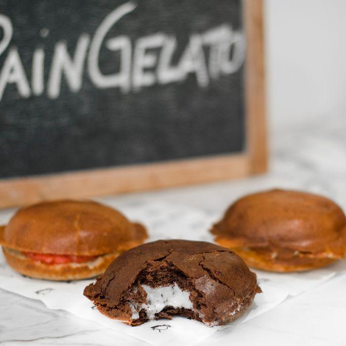 A.B. Biagi's chocolate-chocolate-nibs and orange-blossom flavors.