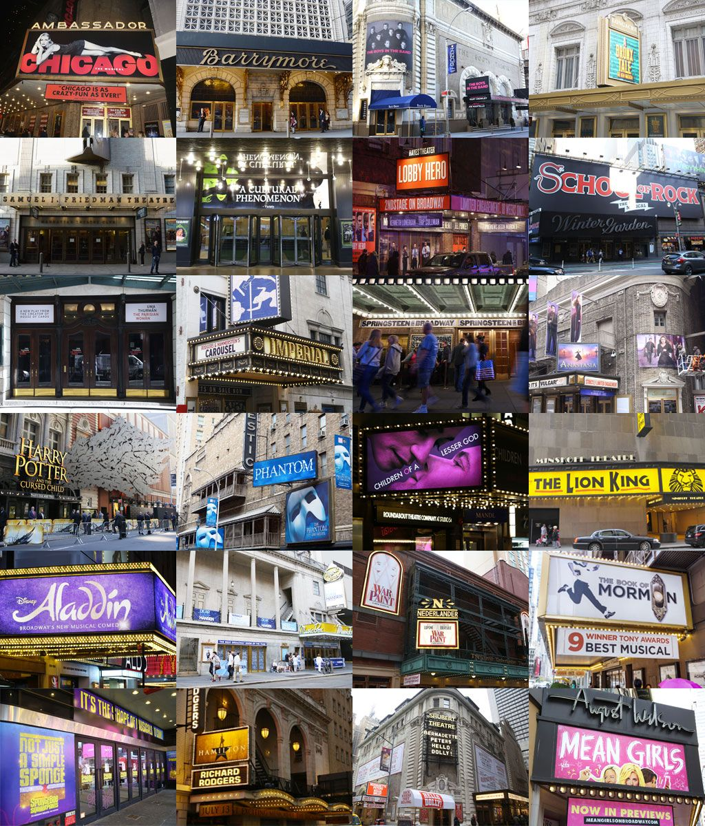 Nyc S 41 Broadway Theaters Ranked