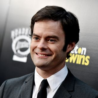 LOS ANGELES, CA - SEPTEMBER 10: Actor Bill Hader arrives at the premiere of Roadside Attractions'
