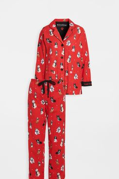P.J. Salvage Flannel PJ Set