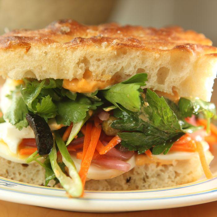 Saltie's Scuttlebutt sandwich.