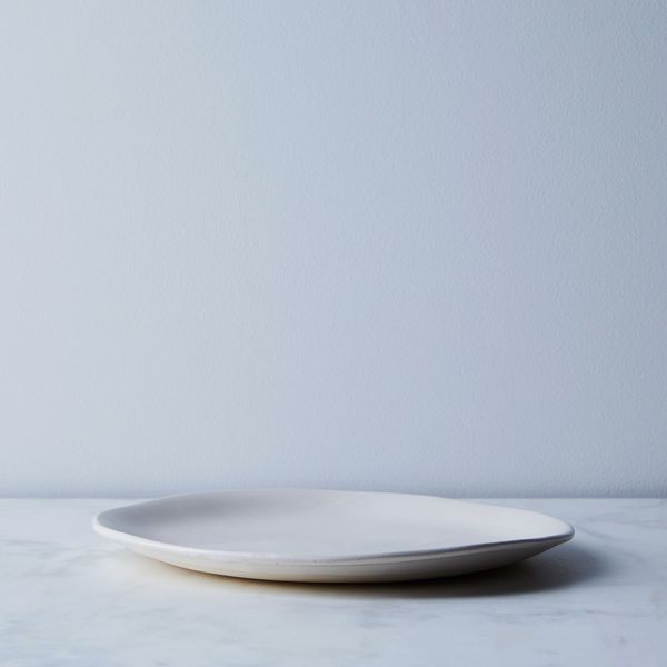 Handmade Wabi Sabi Ceramic Dinnerware — Dinner Plate, Milk