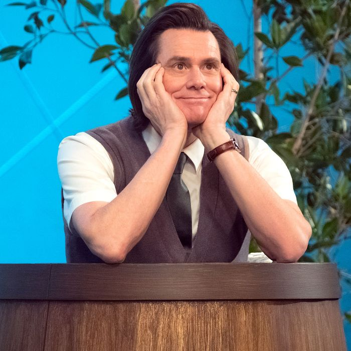 Jim Carrey as Jeff Pickles in Kidding.