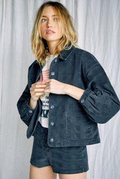 Camille Rowe Bel Shirt Jacket