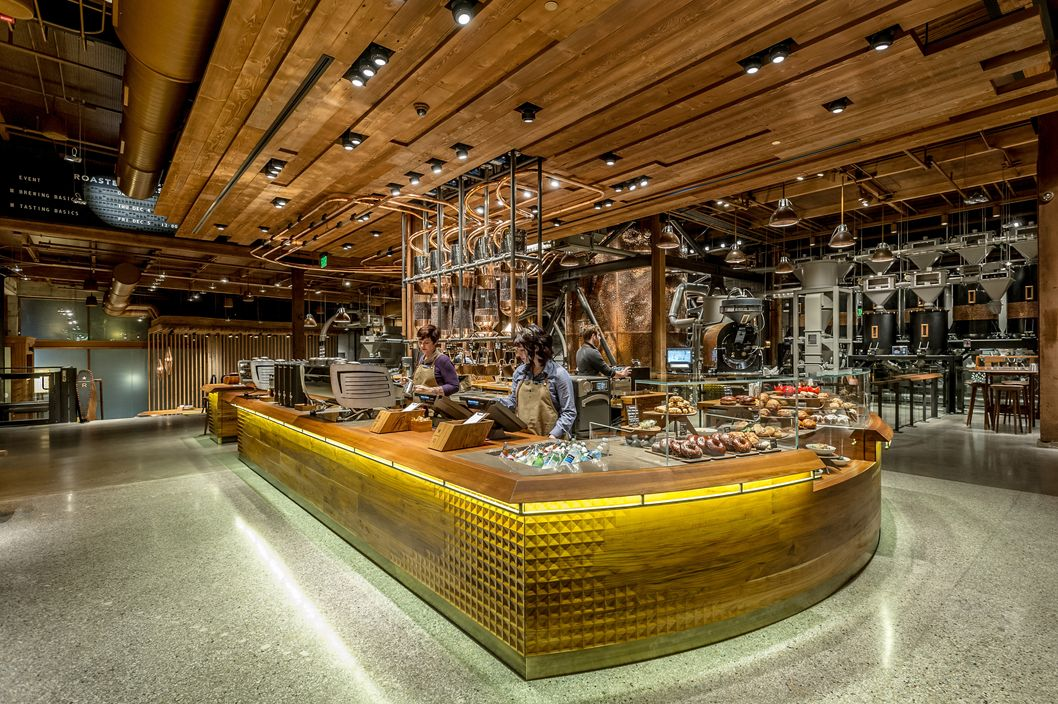 Starbucks Launched Its First Super Fancy Tasting Room