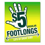 Say Good-bye to Subway's $5 Footlong