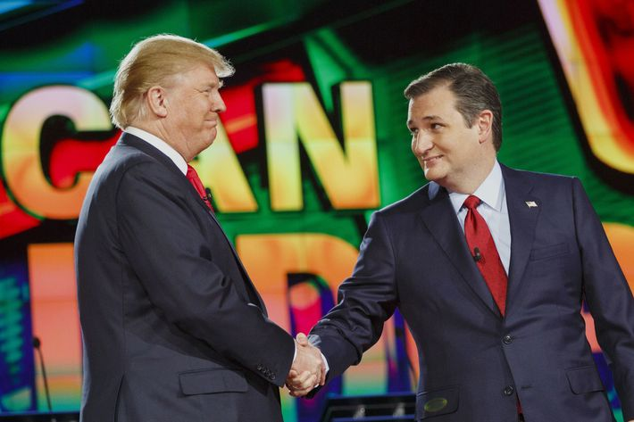CNN And Facebook Host The Republican Presidential Primary Debate In Las Vegas