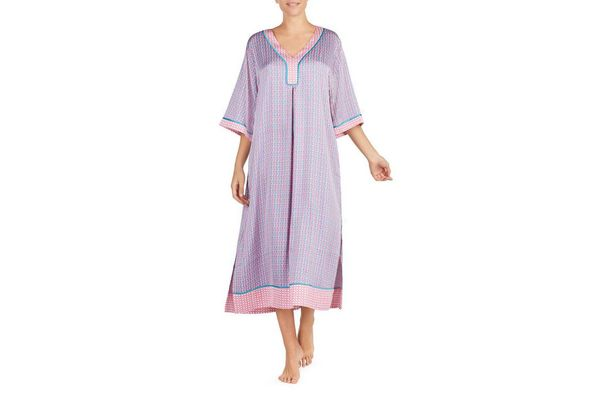 KATE SPADE NEW YORK charmeuse caftan