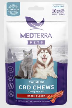 Medterra Bacon Flavored CBD Calming Treats
