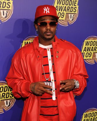 NEW YORK - NOVEMBER 18: Rapper Cam'ron attends the 2009 mtvU Woodie Awards at Roseland Ballroom on November 18, 2009 in New York City. (Photo by Bryan Bedder/Getty Images) *** Local Caption *** Cam'ron