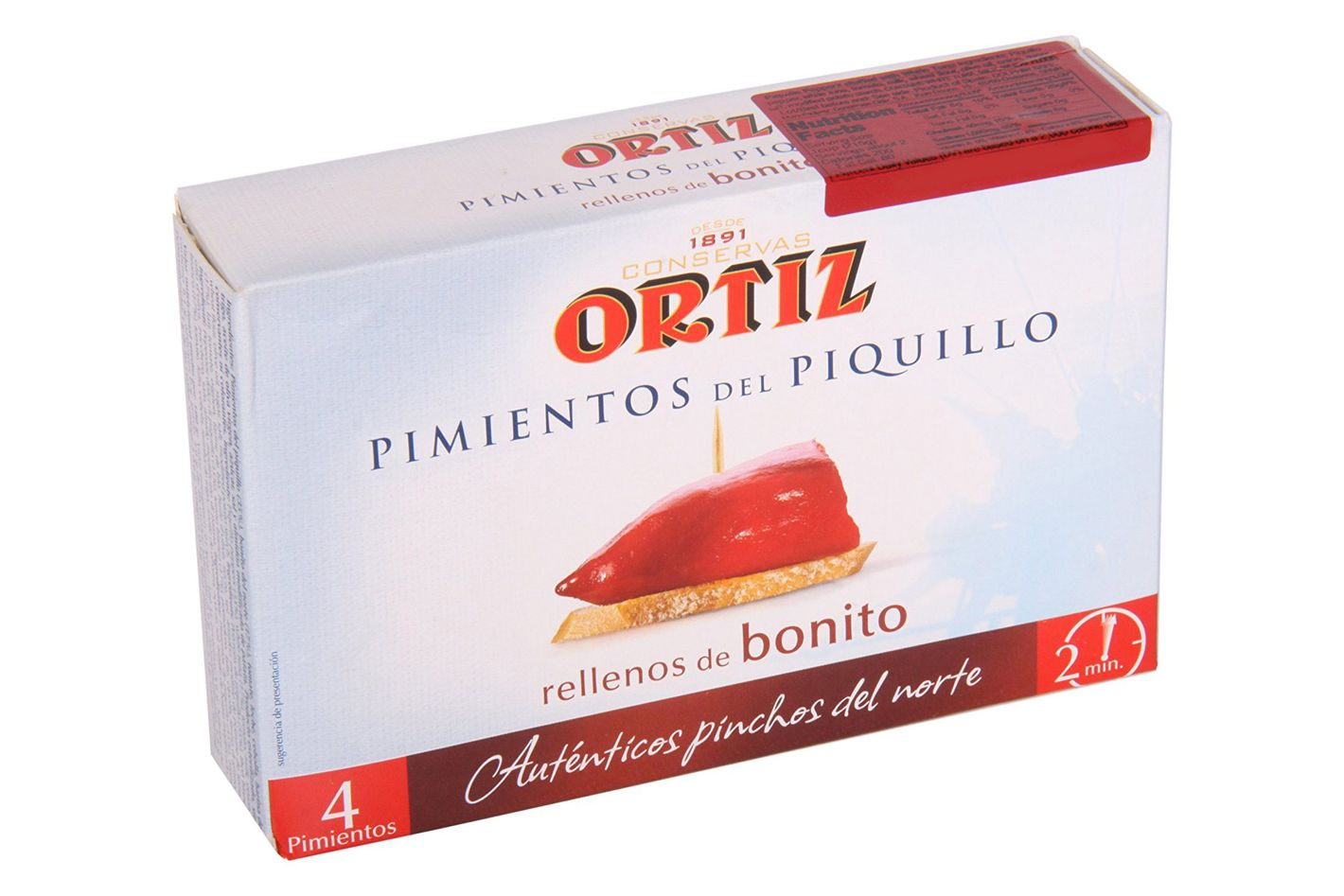 Ortiz Piquillo Peppers Stuffed With White Tuna
