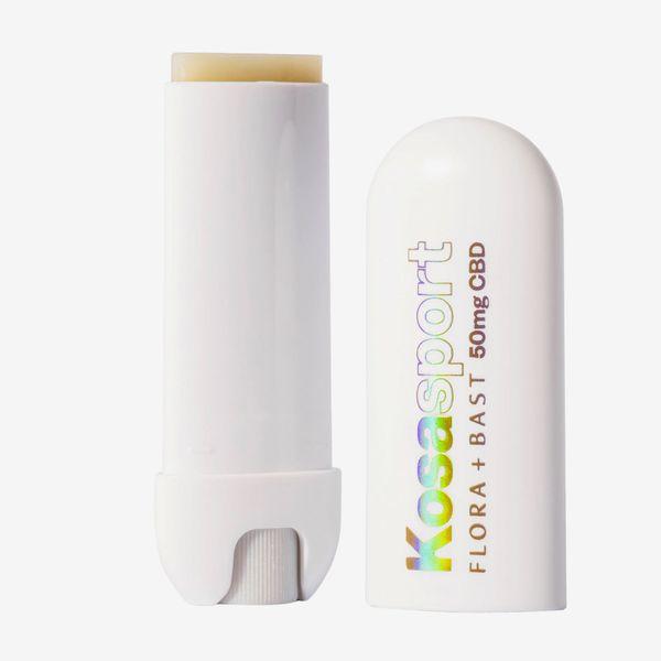 Kosasport LipFuel Extra-Strength Lip Balm with Flora + Bast 50mg CBD and Hyaluronic Acid