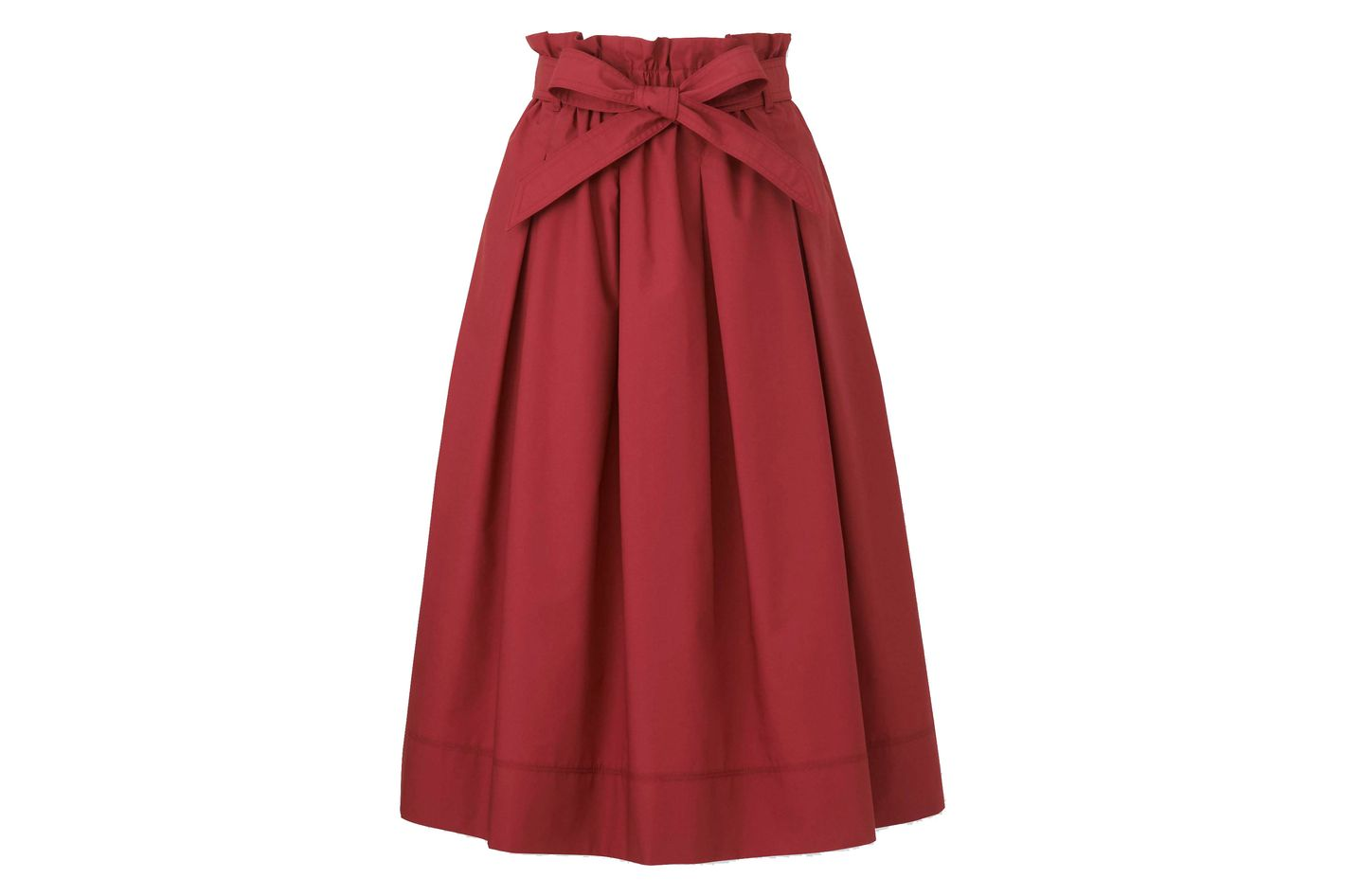 Uniqlo High Waist Belted Midi Skirts