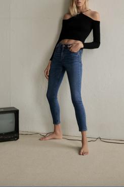 Zara Z1975 Mid-Rise Skinny Jeans