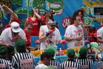 Outtakes — and Intakes — From Nathan's Famous Hot Dog Eating Contest