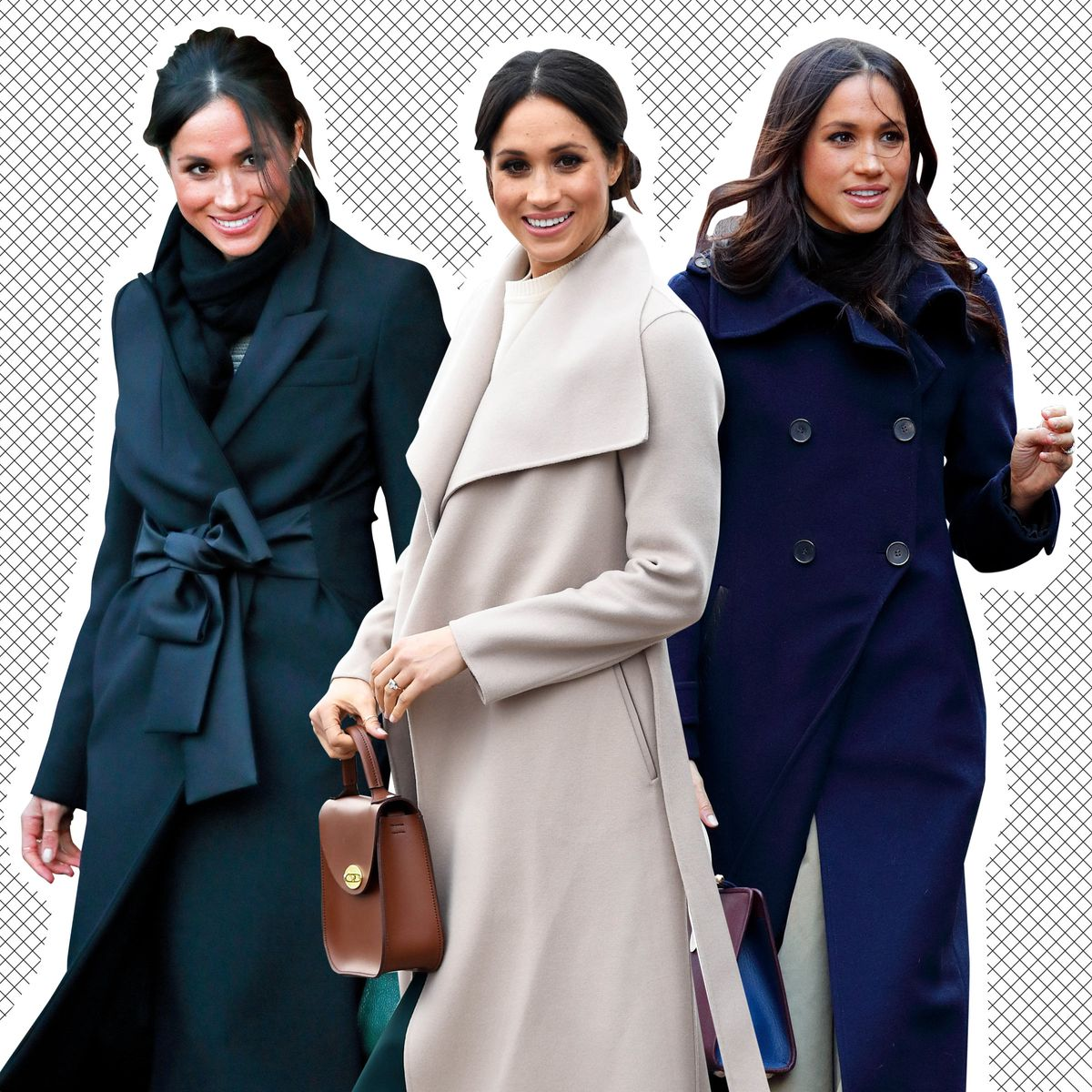 4f9131bf9432 A Definitive Ranking of Meghan Markle s Power Coats