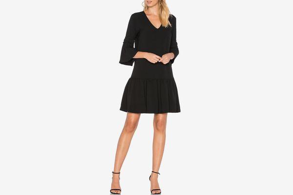 Ganni black dress