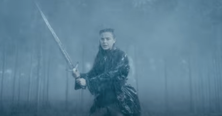 Katherine Langford Gets a Sword in Cursed Trailer - Vulture thumbnail