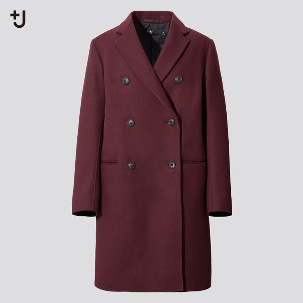 Uniqlo +J Double-Face Double Breasted Coat