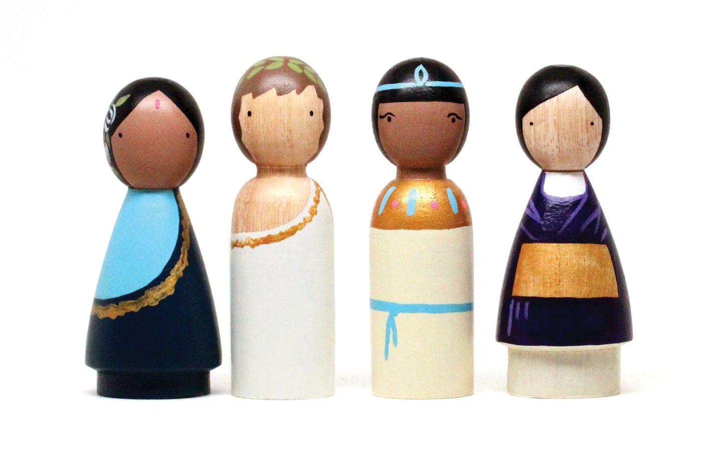 Ancient Cultures Wooden Dolls