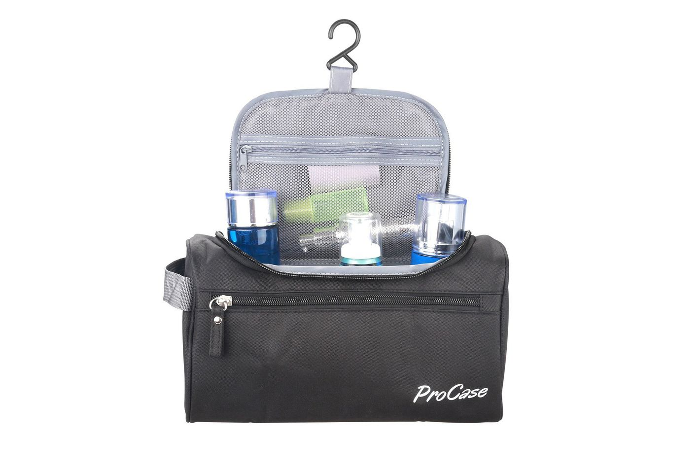 ProCase Toiletry Bag Travel Case With Hanging Hook
