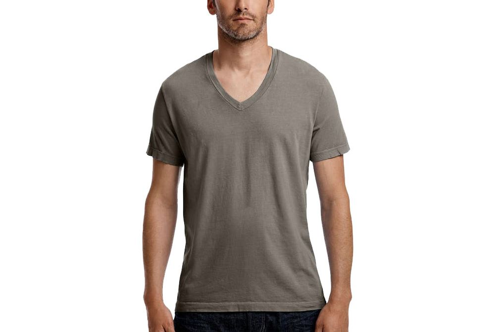 James Perse Short Sleeve V-neck T-shirt