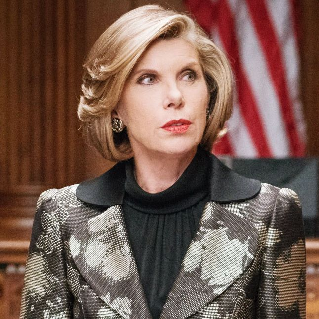 Layered Bob Hairstyle with Christine Baranski