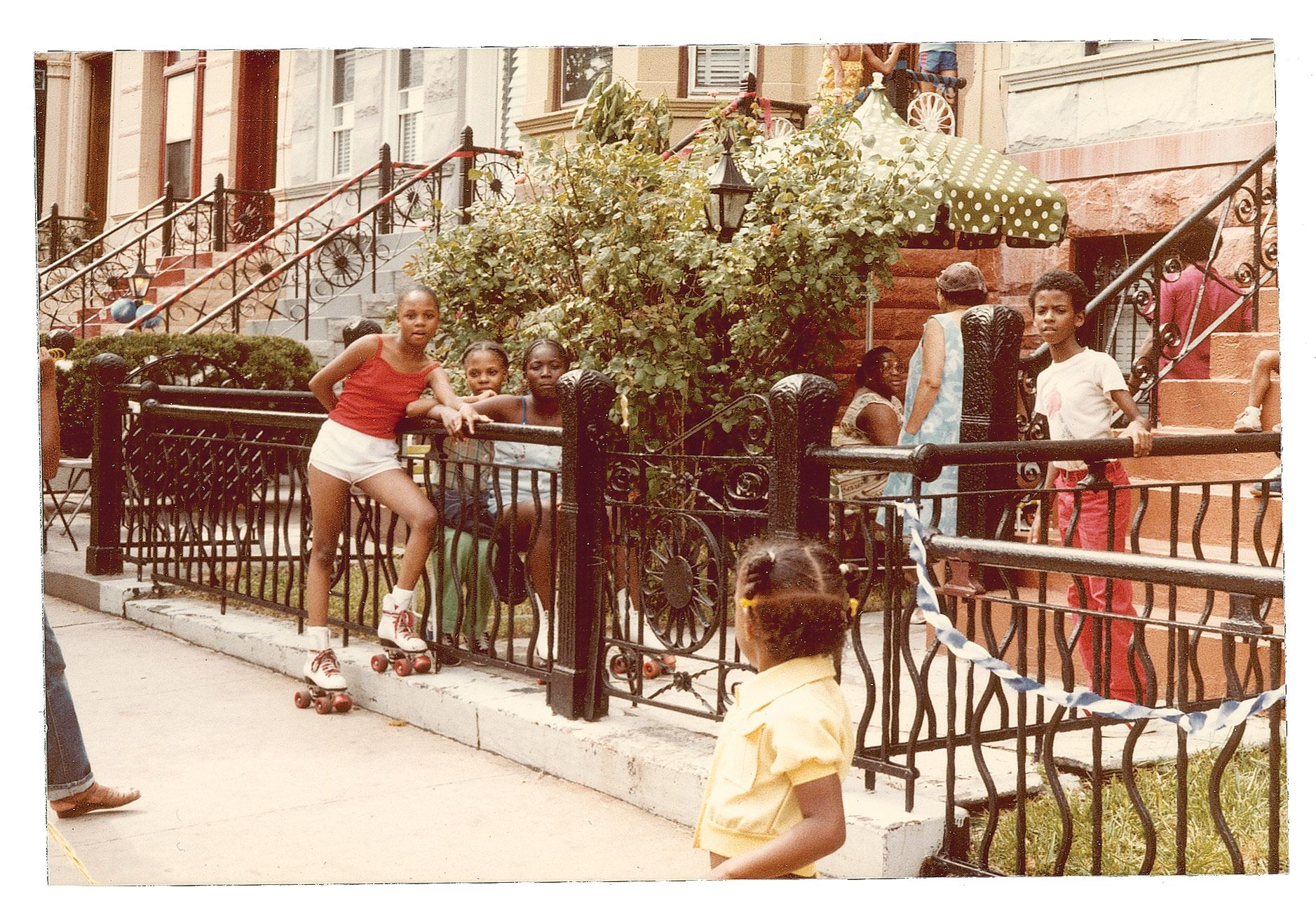 A Scene From The Block Party, Circa Late 1970s