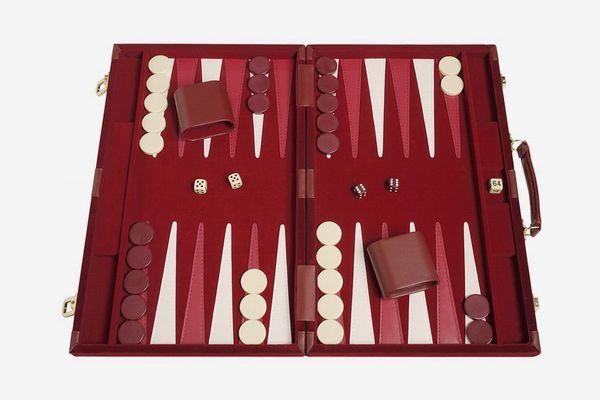 Deluxe Attaché Backgammon Set