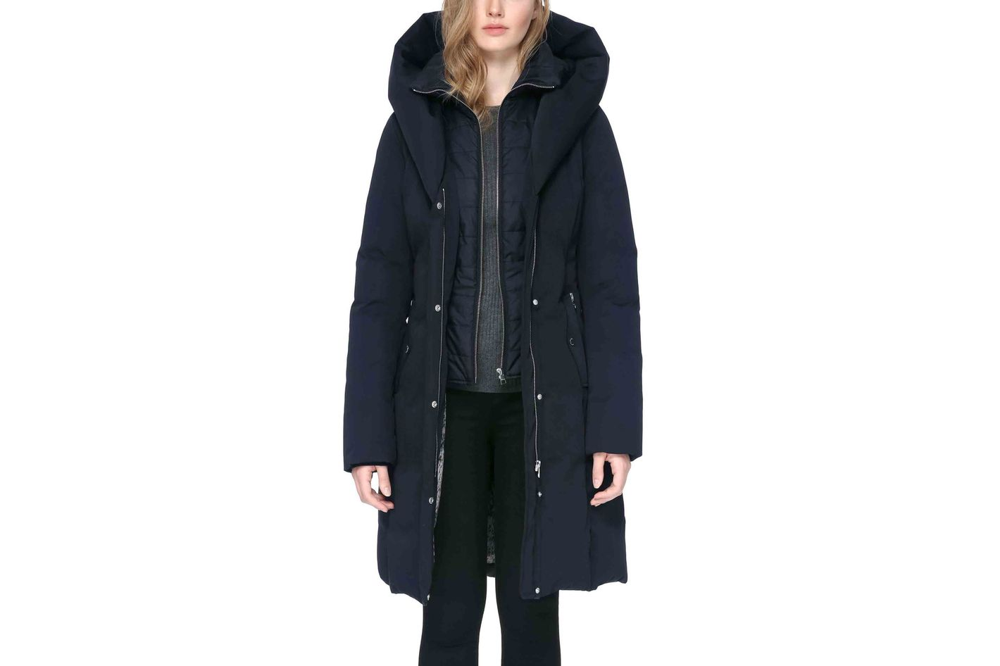 Soia & Kyo Hooded Down Coat
