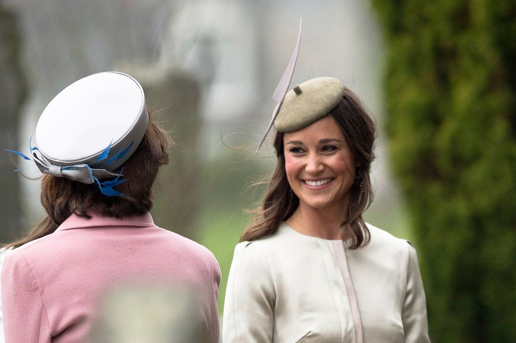 30 Apr 2014, London, England, UK --- Pippa Middleton is seen attending the wedding of university friends, Rowena Macrae and Julian Osborne. Pippa was accompanied by boyfriend Nico Jackson and parents Micheal and Carole Middleton. The wedding took place in Perthshire, Scotland. 26/04/2014 Pictured: Pippa Middleton --- Image by ? Jesa / Tanna/Splash News/Corbis