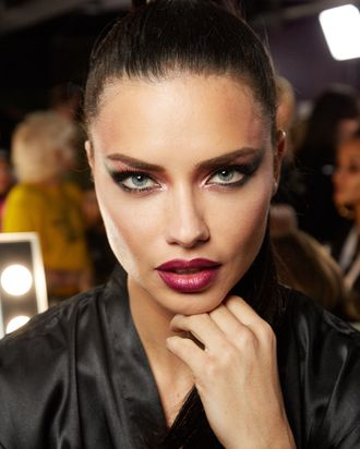 84269e9744f Interview  Adriana Lima on Red Lipstick and Runway Walks