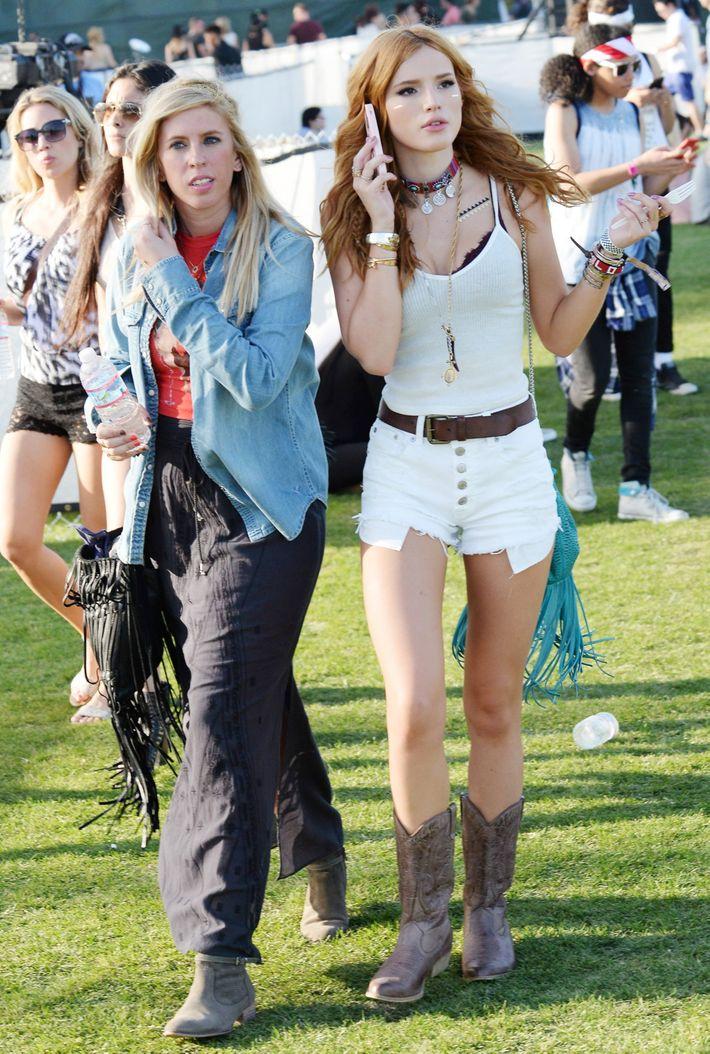 Did This Starlet Ever Find Her Coachella Friend?
