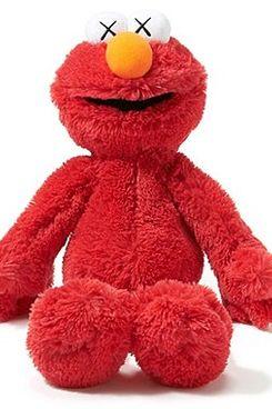 Kaws x Sesame Street Elmo Toy