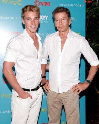 Nick Gruber and Calvin Klein.