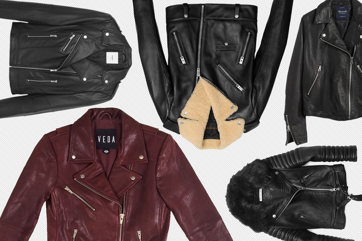The Best Leather Jackets at Every Price